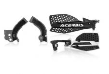 New Acerbis Frame Cover X-Grip YZF 250 450 14-17 X Ultimate HandGuards BLK SIL